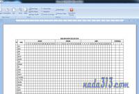 Cara Menggabungkan Tabel Excel ke Microsoft Word Dengan Rapi