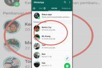 cara membuat status whatsapp tidak pecah