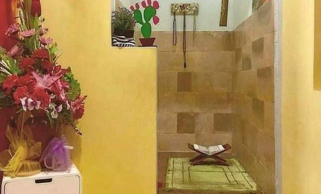 desain mushola di dalam rumah