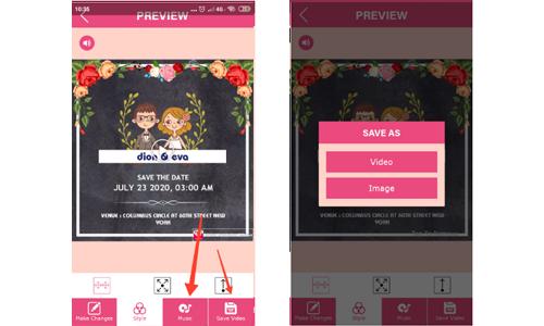 cara membuat video undangan pernikahan