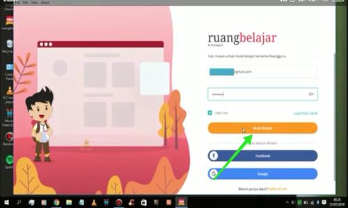 cara mendownload ruang guru di laptop