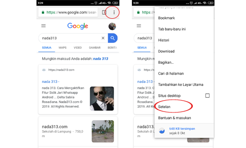 Cara Mematikan Notifikasi Chrome di Android dan Laptop