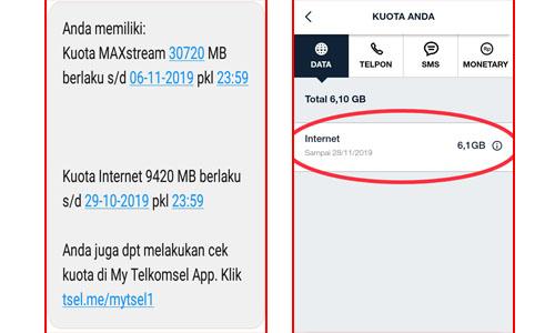 Cara Cek Pembagian Kuota Telkomsel