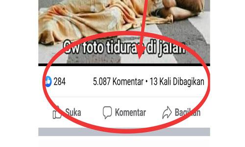 Cara Membuat Komentar Banyak Di Facebook