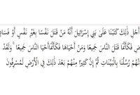 Hukum Tajwid Surat Al-Maidah Ayat 32 Lengkap