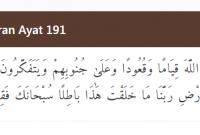 tajwid surat ali imran ayat 190-191 lengkap penjelasan